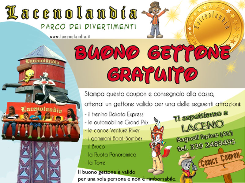 coupon-lacenolandia