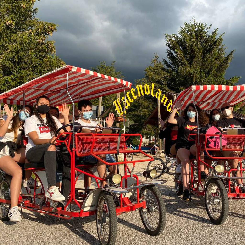 Giro del Lago in Risció